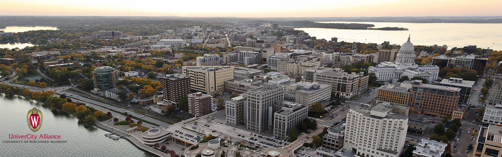 Aerial photo of Madison
